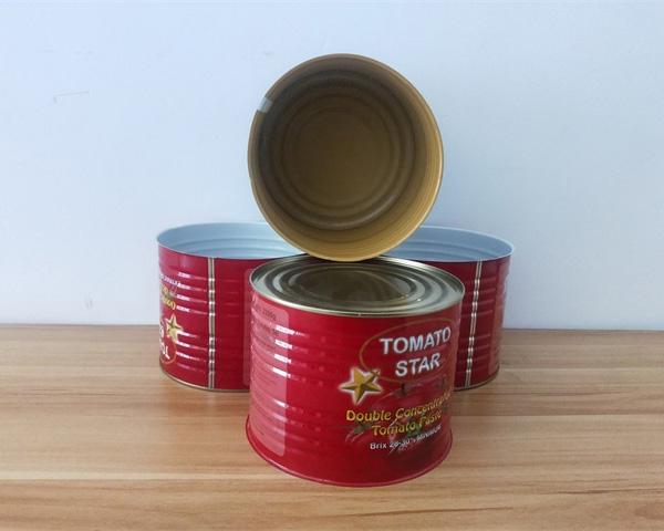 番茄酱铁罐